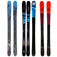 Multiple pairs of skis