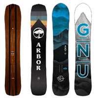 Multiple snowboards
